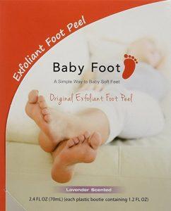 Babyfoot foot peel
