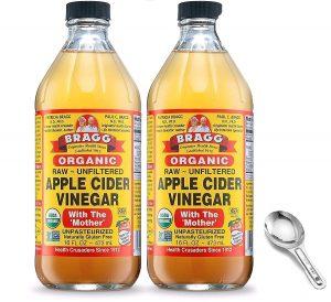 Apple Cider Vinegar Foot Soak for Callus